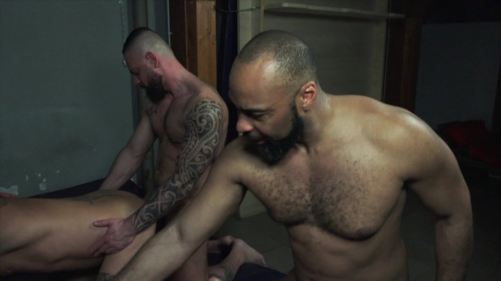 Streaming porn video still #1 from Rocco Steele's Father & Son Secrets: Roman Orgy