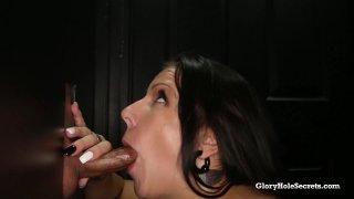 Streaming porn video still #5 from Gloryhole Secrets: Busty Edition