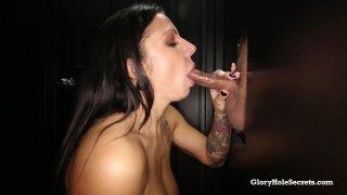 Streaming porn video still #7 from Gloryhole Secrets: Busty Edition