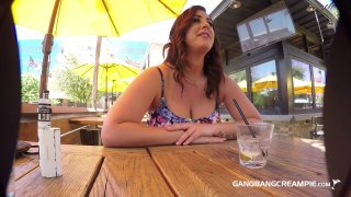 Streaming porn video still #1 from Gangbang Creampie: Curvy Edition