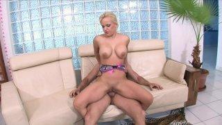 Streaming porn video still #3 from Big Tit Cream Pie Filling