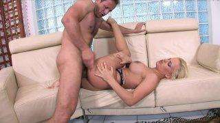 Streaming porn video still #4 from Big Tit Cream Pie Filling