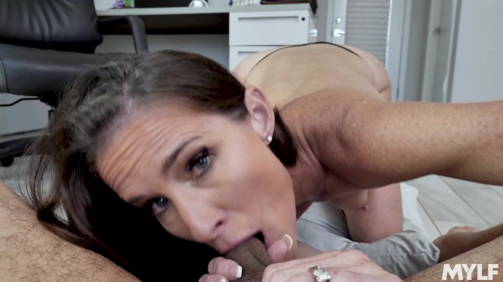 Streaming porn video still #1 from Mom's Dirty Mouth