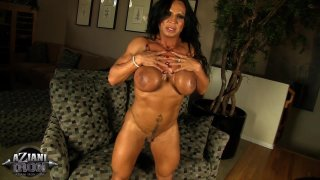 Streaming porn video still #4 from Muscle MILFs Vol. 2