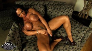 Streaming porn video still #9 from Muscle MILFs Vol. 2