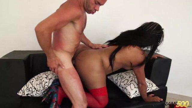 Streaming porn video still #1 from Big Booty T Girls Vol. 8