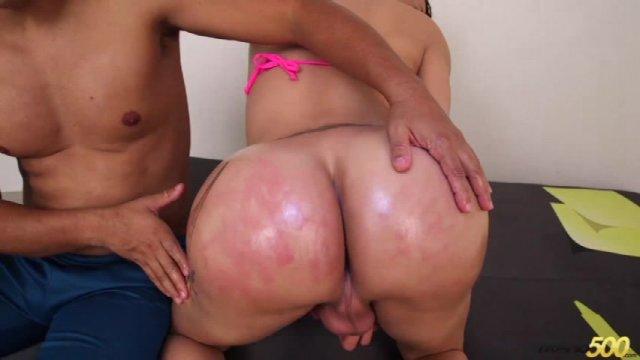 Streaming porn video still #4 from Big Booty T Girls Vol. 8