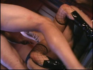 Streaming porn video still #4 from College Coeds Take On All Cummers