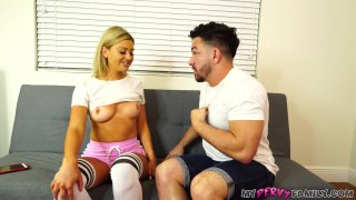 Streaming porn video still #1 from Step Brother . . . Cum Inside Me #5