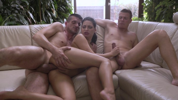 Streaming porn video still #4 from Threesome Anal Temptations