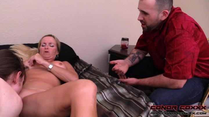Streaming porn video still #1 from Son Fun In Mum's Bum