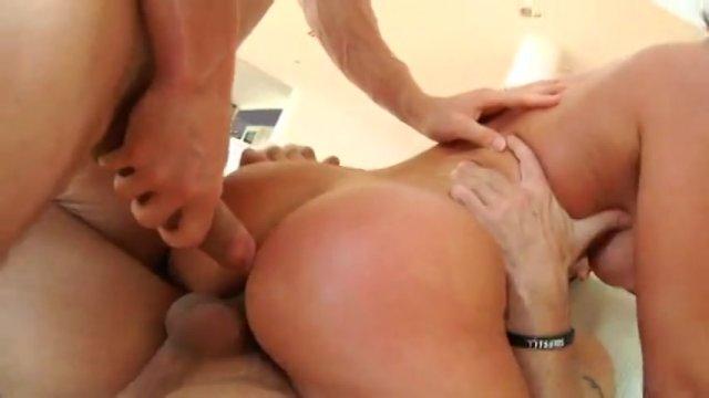 Streaming porn video still #1 from Gangbanged 5