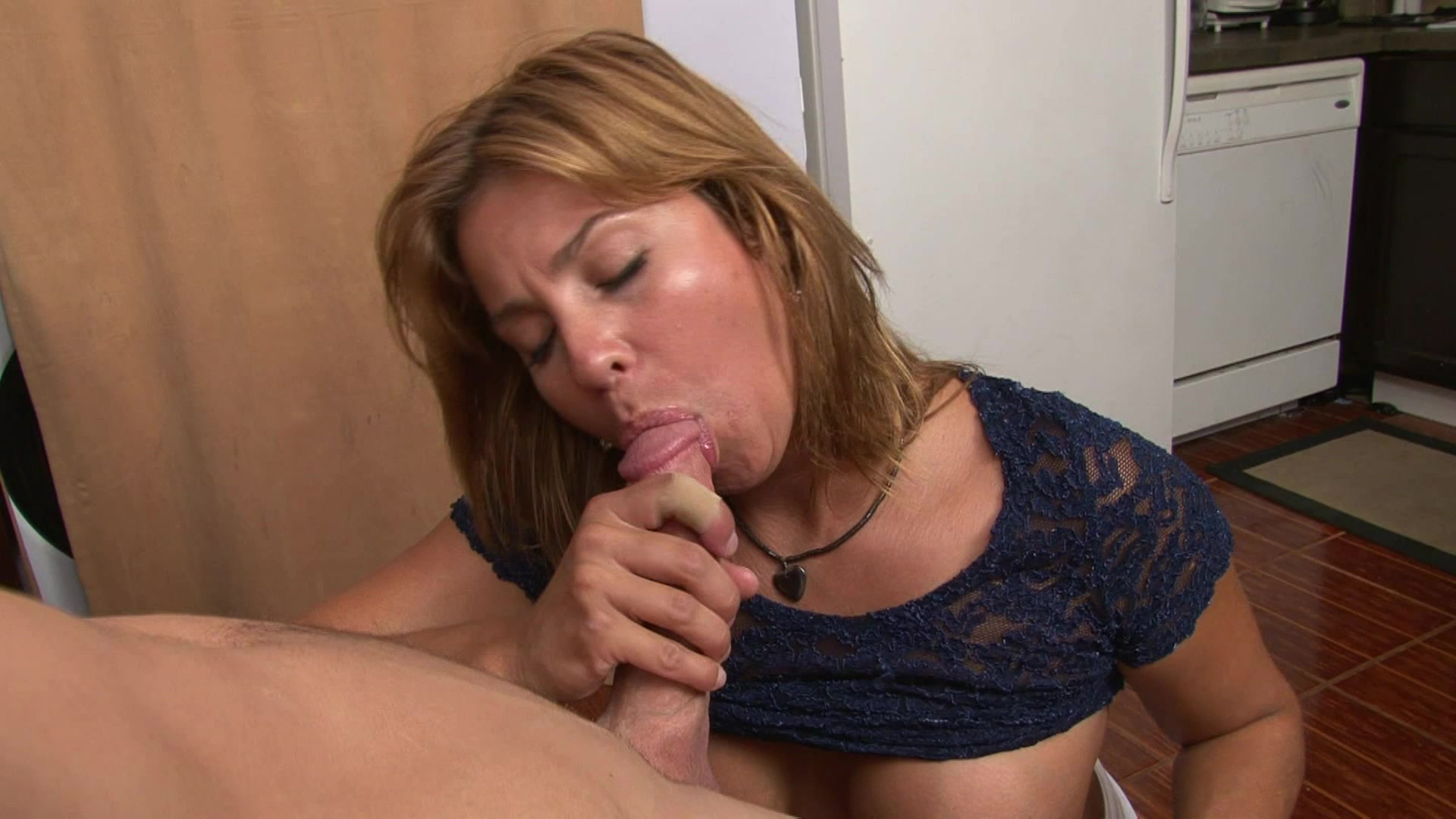 Monsters of jizz milf creamed on pussy and ass