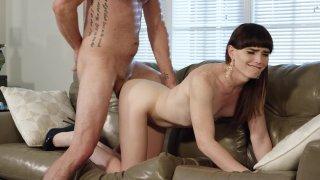 Streaming porn video still #6 from My TS Stepmom