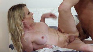 Streaming porn video still #8 from My TS Stepmom