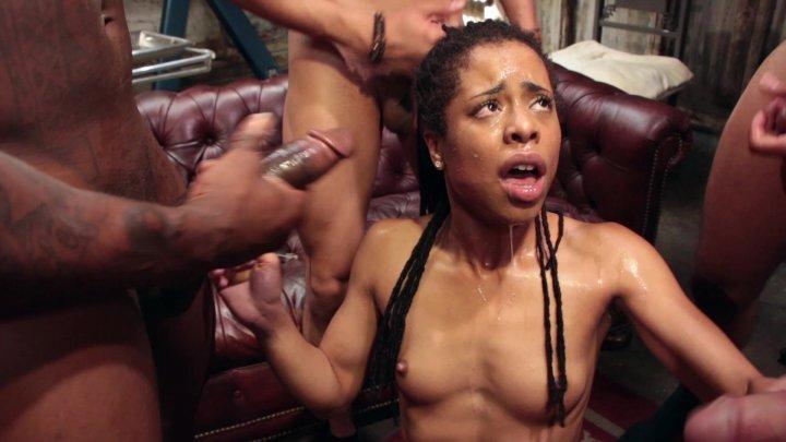 Streaming porn video still #1 from Hardcore Gangbang Vol. 6: Salacious Sluts