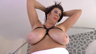 Streaming porn video still #2 from Big Hanging Breasts #6