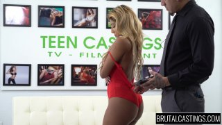 Streaming porn video still #2 from Brutal Castings: Ally Berry