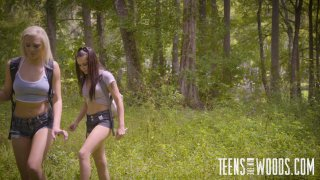 Streaming porn video still #2 from Teens In The Woods: Tiffany Watson