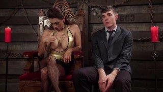 Streaming porn video still #7 from TS Seduction Vol. 6: Latex Love