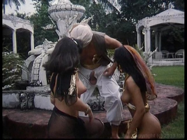 Streaming porn video still #1 from Aladdin And The Anal Princesses