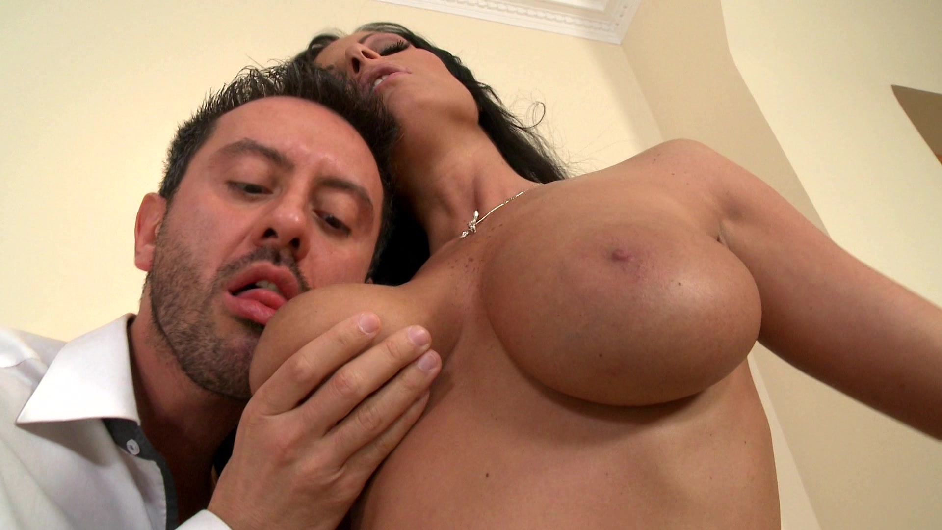 Man sucking breasts video girl swing fuck