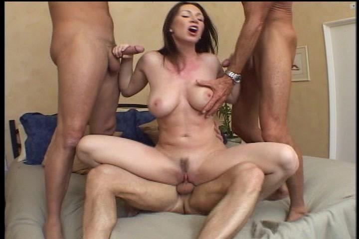Girl fucks his butt