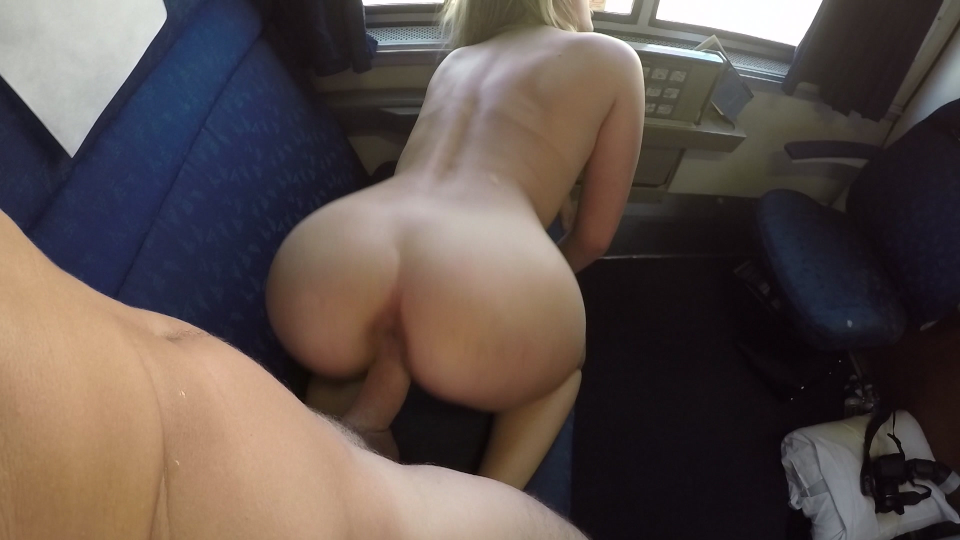 Lovely couples sex on the train, adiwase geral boobs