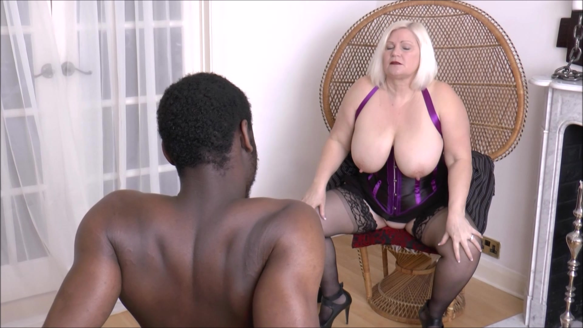 Busty blonds fingering