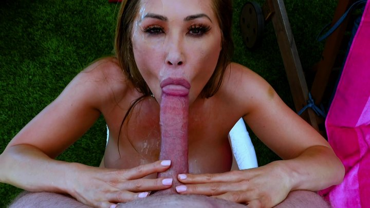 Streaming porn video still #1 from Kianna Dior: Busty Asian Cum Slut 7