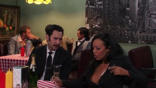 Streaming porn video still #3 from American Hustle XXX Porn Parody