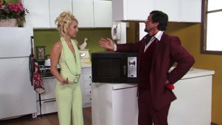 Streaming porn video still #5 from American Hustle XXX Porn Parody