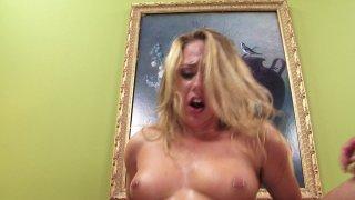 Streaming porn video still #7 from American Hustle XXX Porn Parody