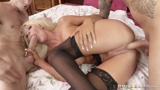 Streaming porn video still #9 from Horny Housewives 4