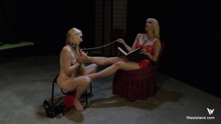 Streaming porn video still #3 from Femdom Goddess Starla: Gauntlet Of Pain