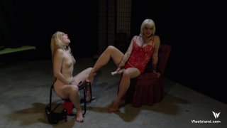 Streaming porn video still #8 from Femdom Goddess Starla: Gauntlet Of Pain