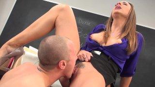 Streaming porn video still #4 from Hot For Teacher