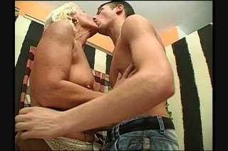 Streaming porn scene video image #1 from Grandmas hairy pussy drilled by naughty nephew