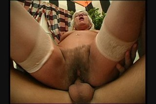 Streaming porn scene video image #3 from Grandmas hairy pussy drilled by naughty nephew