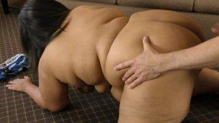 Streaming porn video still #1 from Daddy Likes 'Em Fatty 4