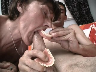 Streaming porn scene video image #3 from Grandma gets cum on her plaque from grandson