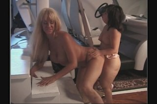 Streaming porn scene video image #5 from Horny midget fucks a hot blonde with strap-on