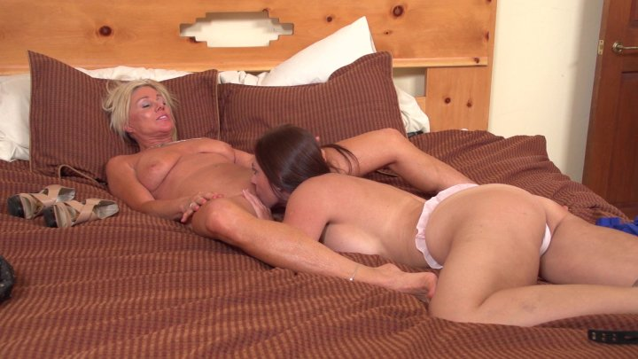 Streaming porn video still #3 from Lesbian Training Day 6