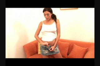 Streaming porn scene video image #1 from All Natural Brunette Masturbates