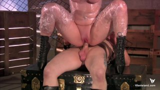 Streaming porn video still #8 from 7 Submissive Brides 7 Maledom Brothers