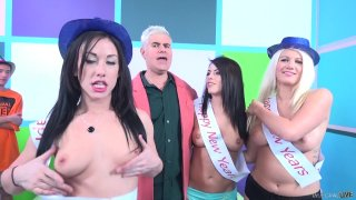 Streaming porn video still #5 from Fuck a Fan Adriana Chechik, Jennifer White, Layla Price
