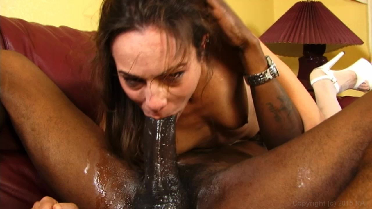 Busty woman blow job