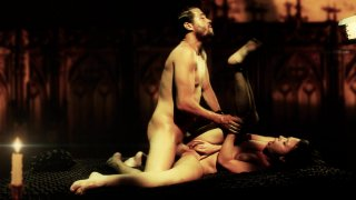 Streaming porn video still #7 from Beauty And The Beast XXX: An Erotic Fairy Tale Parody
