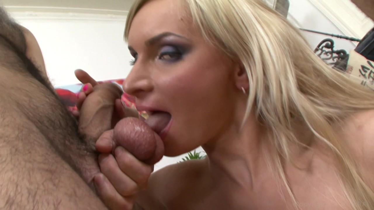 Ebony milf gets her pink pussy stuffed by a big dick masseur