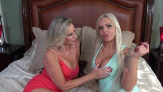 Bi-Sexual MILFs Jodi And Nina Elle